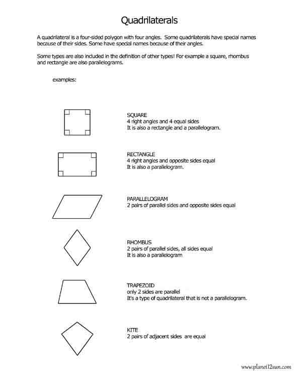 quadrilaterals 1